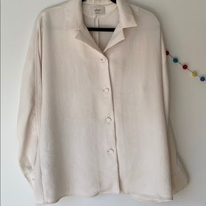 cream-coloured Wilfred blouse